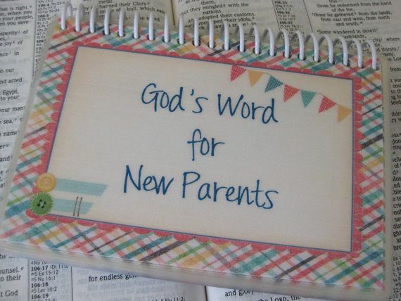 god 39 s word for new parents spiral bound laminated bible verse cards