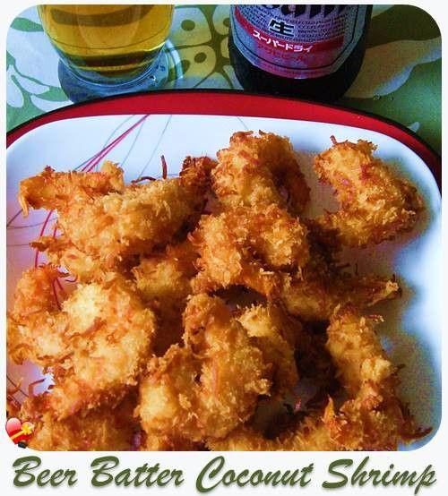 Receita do camarão do coco da massa da cerveja receita Fry acima de seus favoritos com estas 20 receitas da massa de pão da cerveja