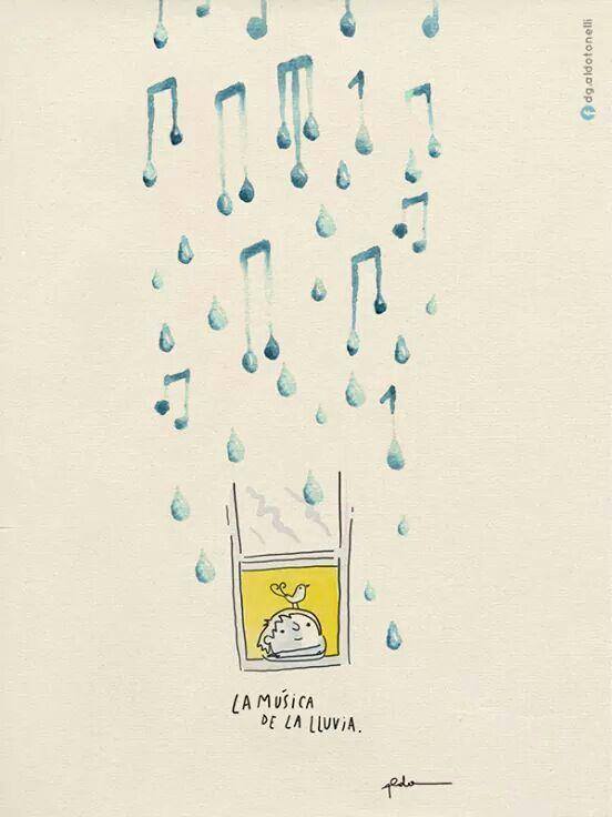 La música de la lluvia