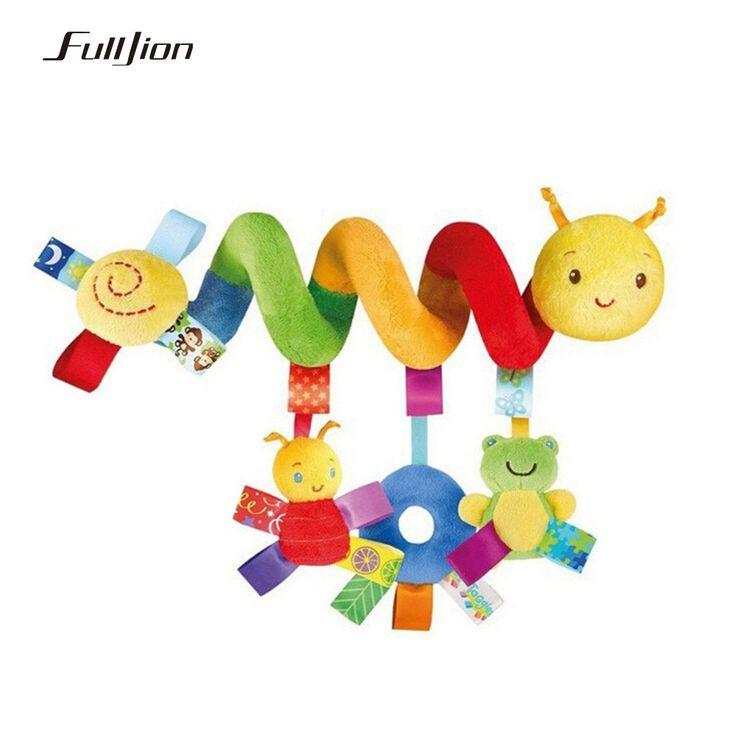 Fulljion赤ちゃんガラガラモビール教育のおもちゃおしゃぶり幼児ベッドベル赤ちゃん演奏子供ベビーカーぶら下げ人形