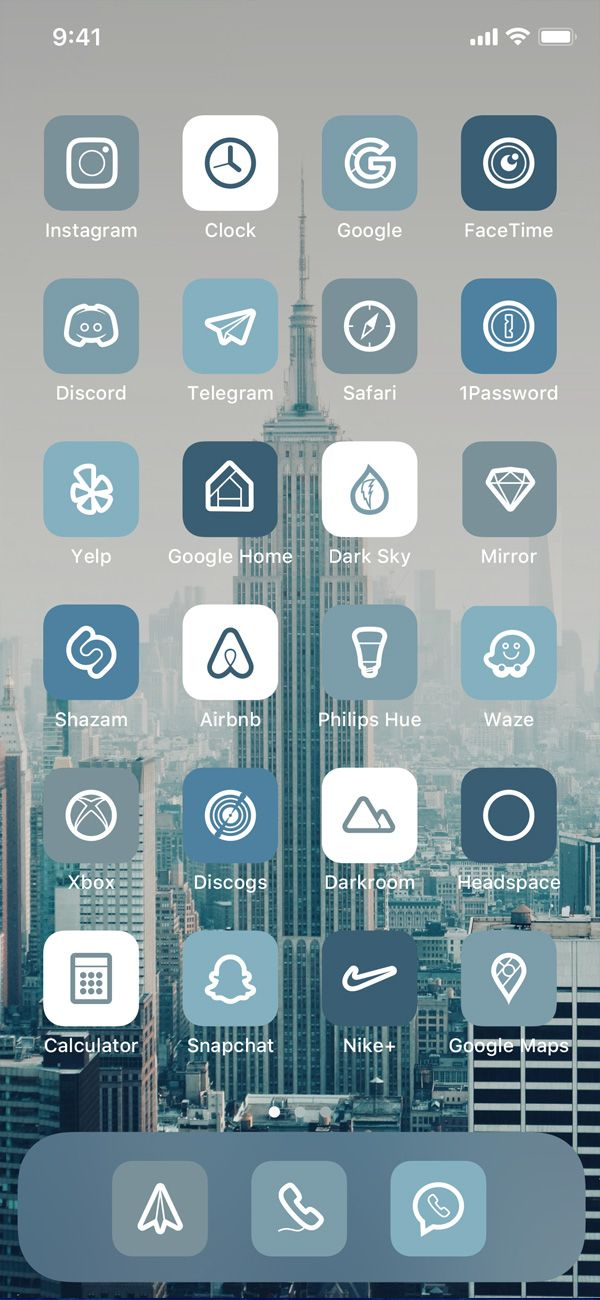 4000 Denim Blue Ios 14 Iphone Minimalist App Icons Pack Denim Blue Grey Aesthetic Icons By Phikfyn Instagram Layout App Icon Icon Pack
