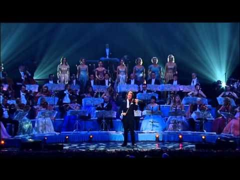Andre Rieu (Holland) his orchestra choir did a tribute to Frank Sinatra with My Way on his (Stradivarius) violin.