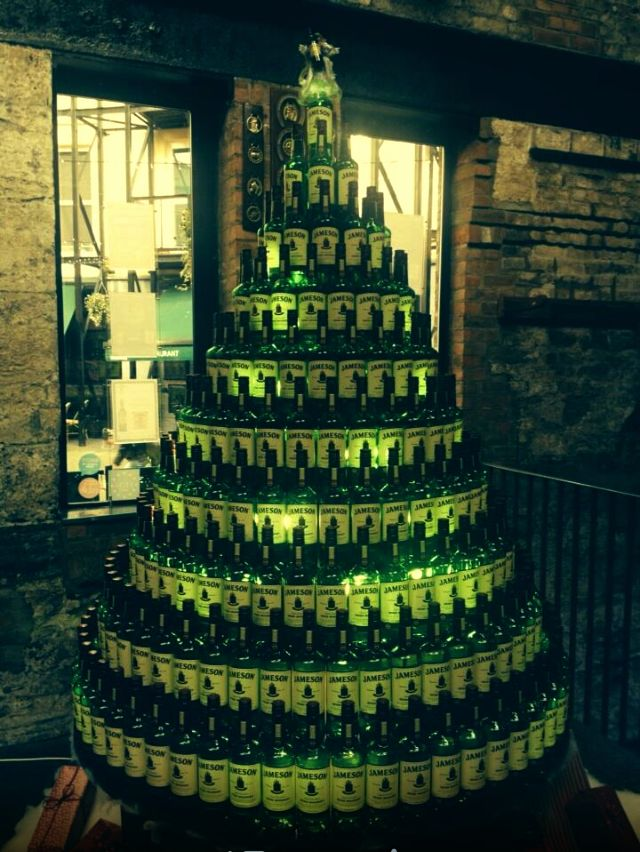 Jameson Irish Whiskey Christmas Tree With Images