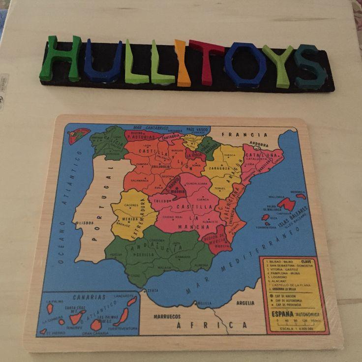 Puzzles mapa www.hullitoys.com