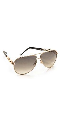 Gucci Metal Aviator Sunglasses: Gucci Metals, Metals Aviator, Gucci Sunglasses, Gucci Aviator, 1627 Aviator, Sunglasses 395, Sensible Sunglasses, Aviator Sunglasses, Sunglasses Hats