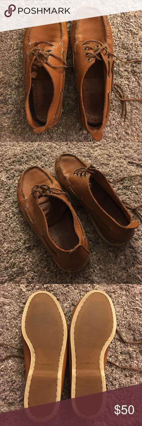 Men's Sperry Topsider Chukka Boots In great shape! Brown leather Chukka shoes! Sperry Top-Sider Shoes Chukka Boots
