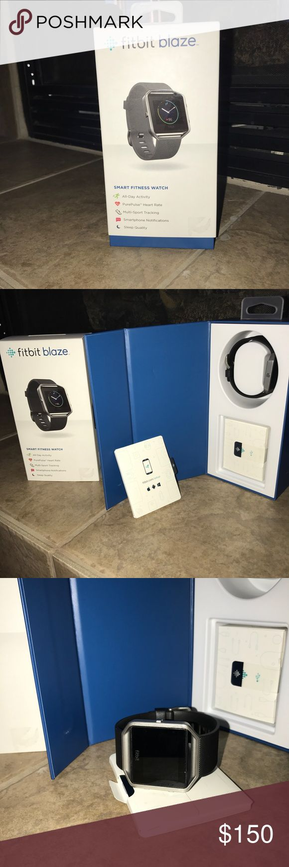 Fitbit Blaze In excellent condition no scratches or cracks comes with charger and booklet from Nordstrom retails at $200 plus tax fitbit Accessories Watches