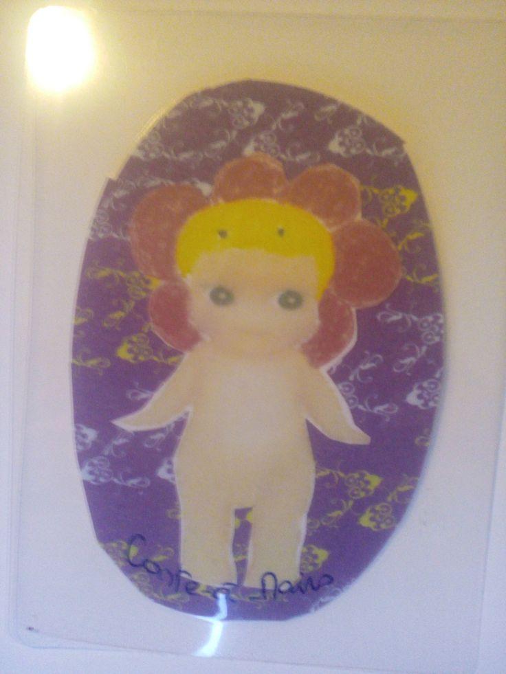 Conte-a-mains-gioiellidecelena collection Babies Marque page thème fleur : Marque-pages par conte-a-mains-gioiellidecelena