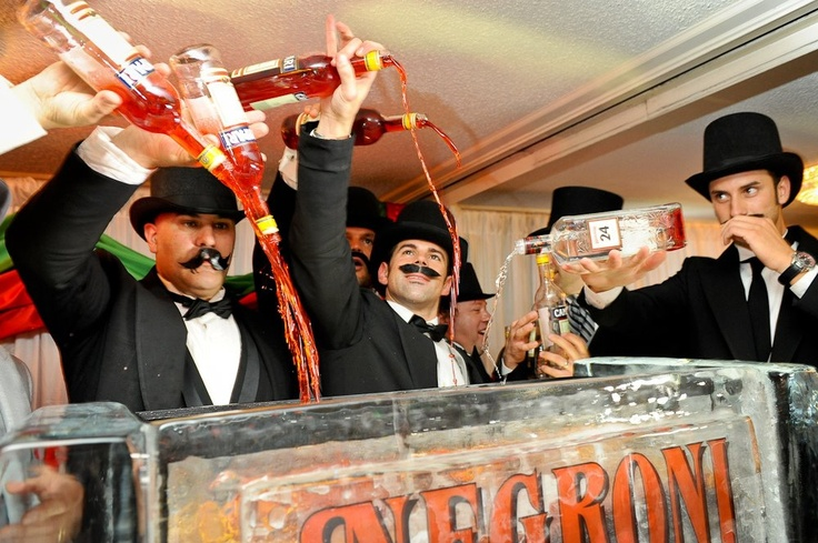 We want a sip of the World's Largest #Negroni.
