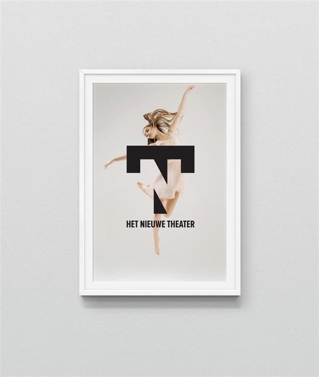 Rens Dekker | Visuele identiteit en logo ontwerp voor Het Nieuwe Theater in Eindhoven.