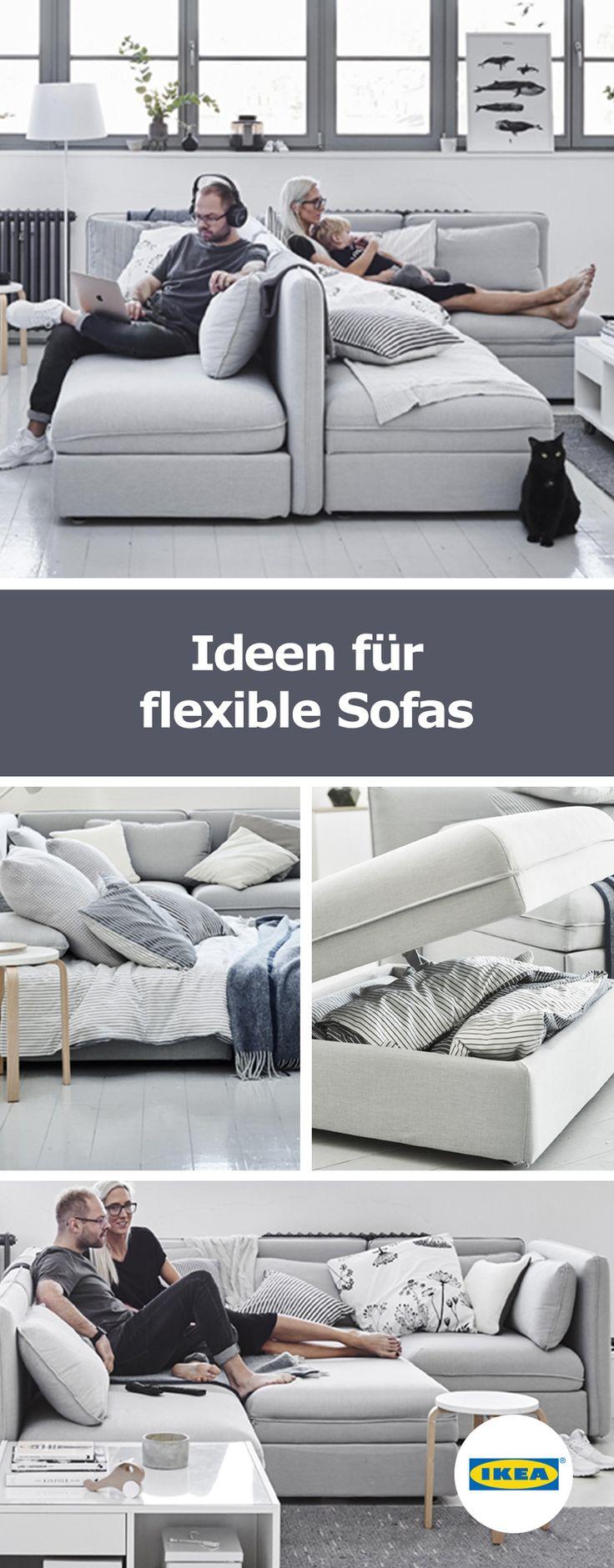 IKEA Deutschland   Ideen Für Flexible Sofas