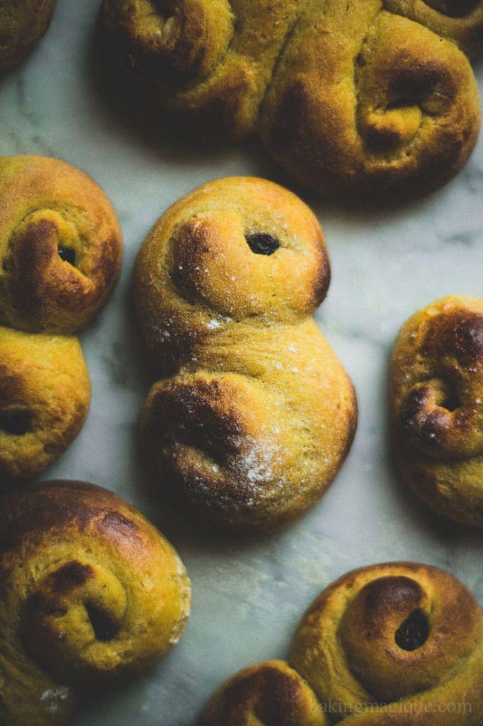 gluten free swedish saffron buns   Baking Magique