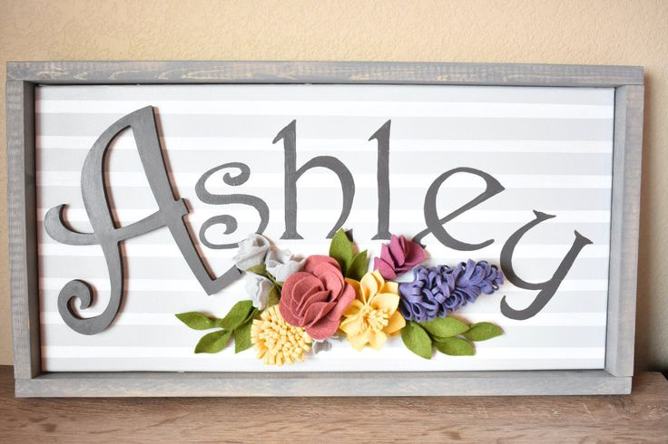 1000 ideas about name above crib on pinterest flower for Above the crib decoration ideas