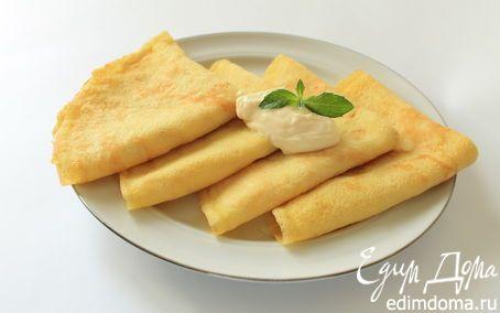 Тонкие кабачковые блинчики | Кулинарные рецепты от «Едим дома!»