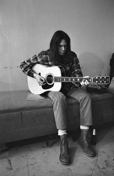 """Lullabies, look in your eyes. Run around the same old town.""  Old Man.  Neil Young"