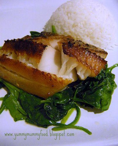 miso glazed black cod | Yum | Pinterest