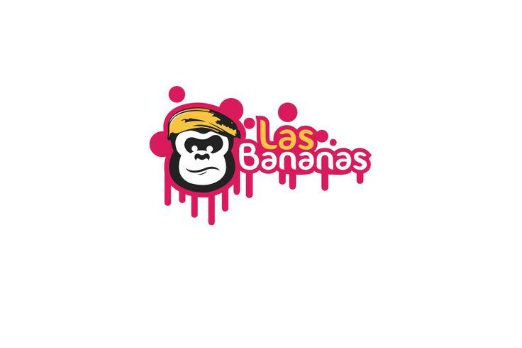 Las Bananas Logo Concept