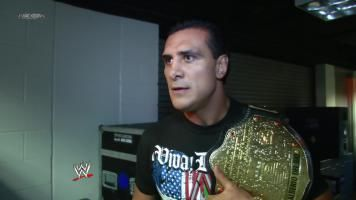 World Champion Alberto Del Rio talks about his opponent for SummerSlam, Christian.