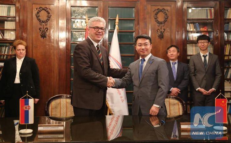 Chinese company to rehabilitate 7.4-km rail line in Serbia - Xinhua   English.news.cn