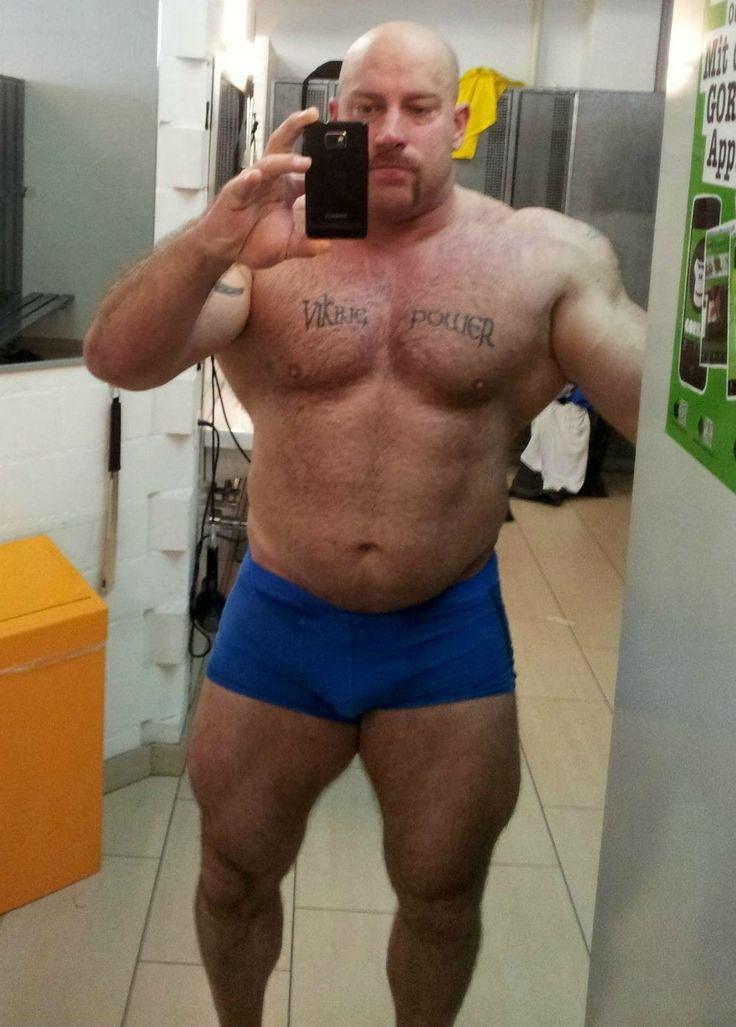 I D Anyone Bodybuilders In Private Relaxed Muscle