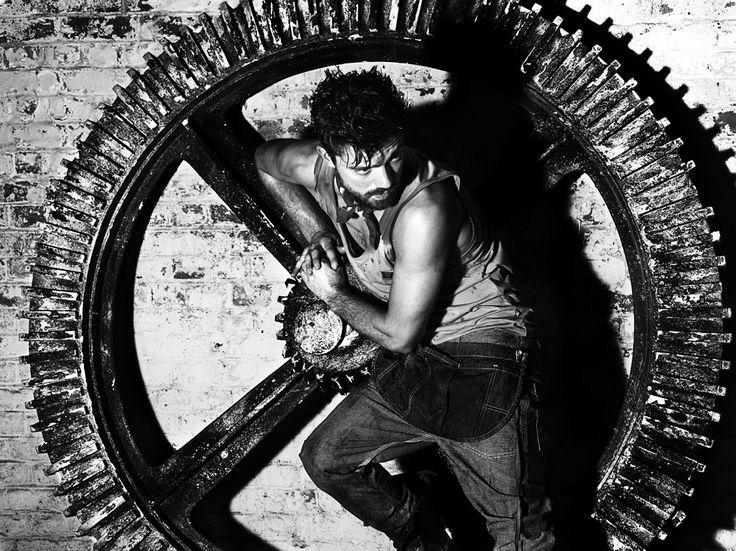 Dominic Cooper Hunger Portrait Fashion Diesel