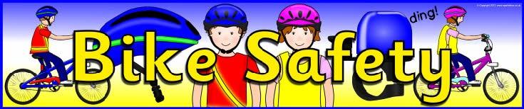 Bike Safety display banner