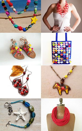 Summer fashion by Tania on Etsy--Pinned with TreasuryPin.com