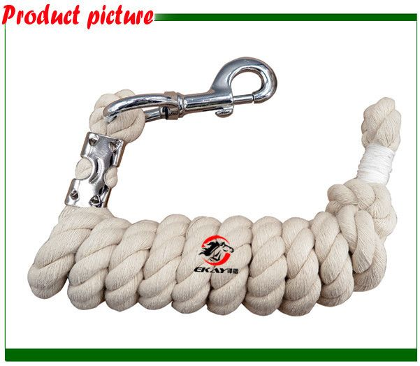 Horse lead rope,pet's lead rope,cotton material,15MM thick,2 meters long. (ROPE1005)