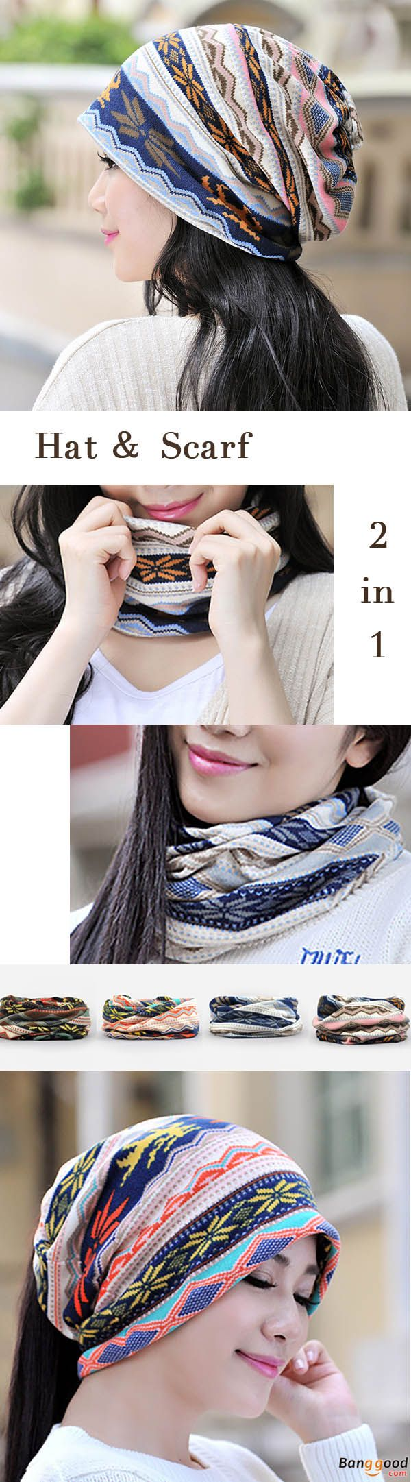 US$7.99 + Free shipping. Suitable in Spring, Autumn, Winter. Applies To Casual, Vacation, Shopping Occasions. Woman Hat, Multifunctional Cap, Bonnet Cap, Neck Scarves, Windproof Visor Hat.