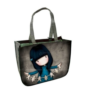 • Features beautiful I Found My Family In A Book artwork by Suzanne Woolcott• Lightweight, robust and large • Includes handy zipped purse, attached to the inside of the bag with a popper