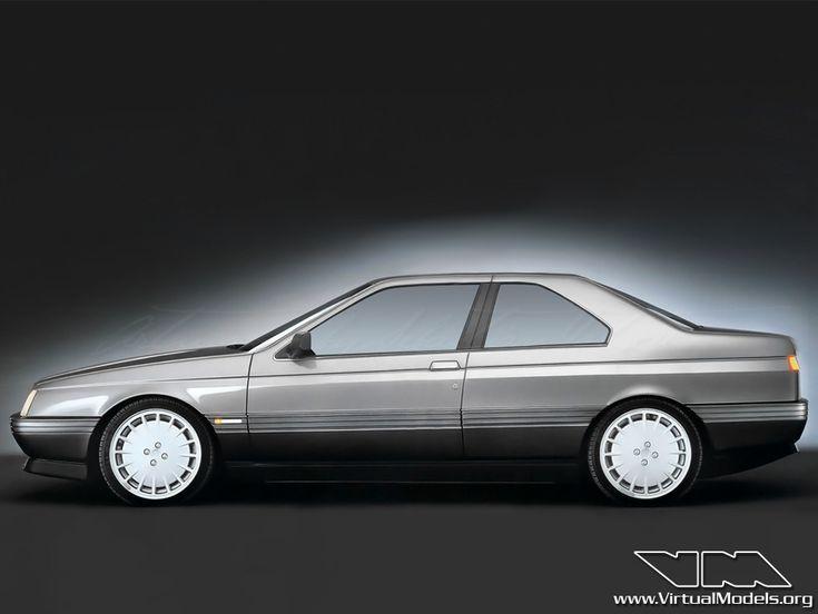 Alfa Romeo 164 Coupé | photoshop chop by Sebastian Motsch (2013)