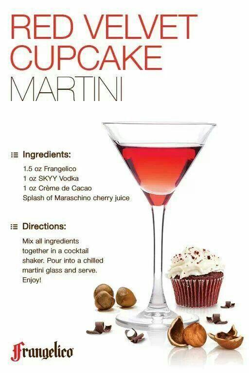 Red Velvet Cupcake Martini