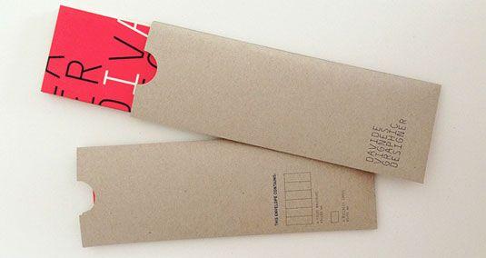 10 creative envelope designs   Product design   Creative Bloq