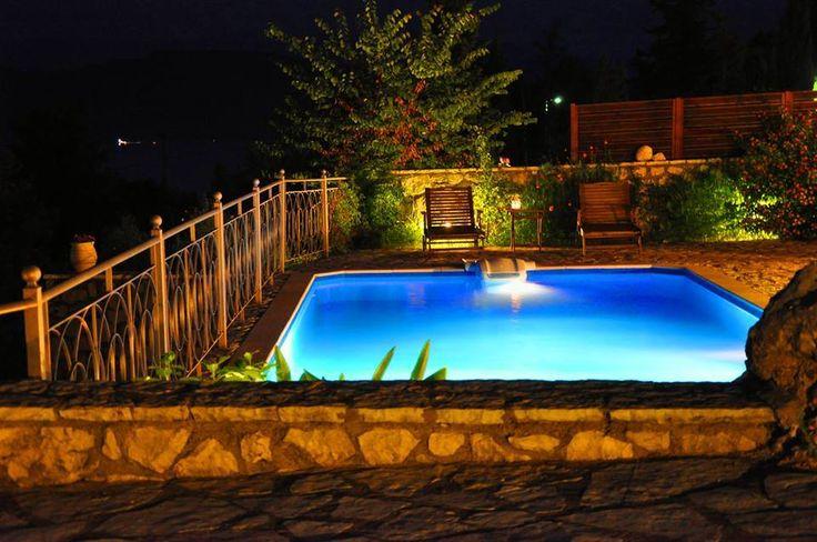 Summer nights at Theasis Villas