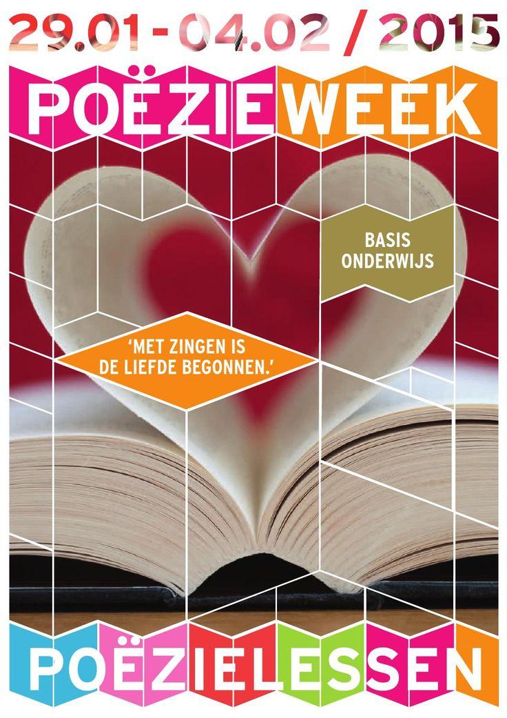 Breng de Poëzieweek de klas in. Lesmateriaal voor het basisonderwijs Deze week is het de poëzieweek. Iedereen schenkt extra aandacht aan poëzie. Deze week hebben we bv. voor een paar lessen een gedicht gelezen. Voor nederlands moete we zelf poëzie schrijven. Ik vind de poëzie week inspirerend.
