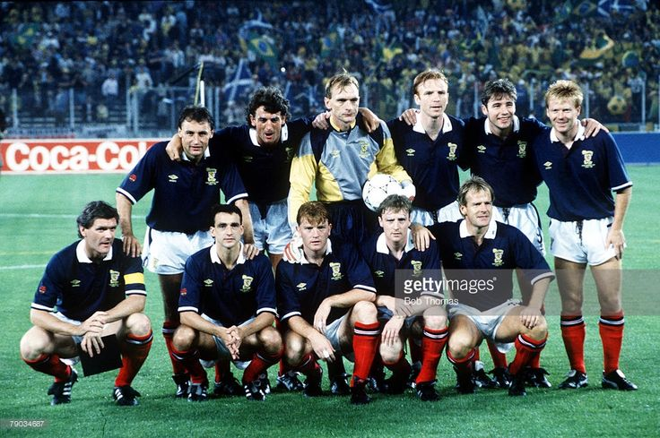 World Cup Finals Turin Italy 20th June Brazil 1 v Scotland 0 Scotland... News Photo   Getty Images