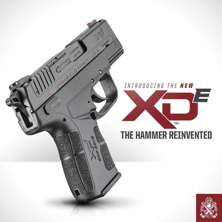 "7,623 Likes, 488 Comments - Springfield Armory (@springfieldarmoryinc) on Instagram: ""Introducing the XD-E. The new XD-E takes the best elements of the world-renowned XD Series,…"""