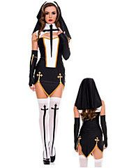 Halloween Nun Uniform Temptation Dress Nightclub Masquerade Costume For Cosplay Costume