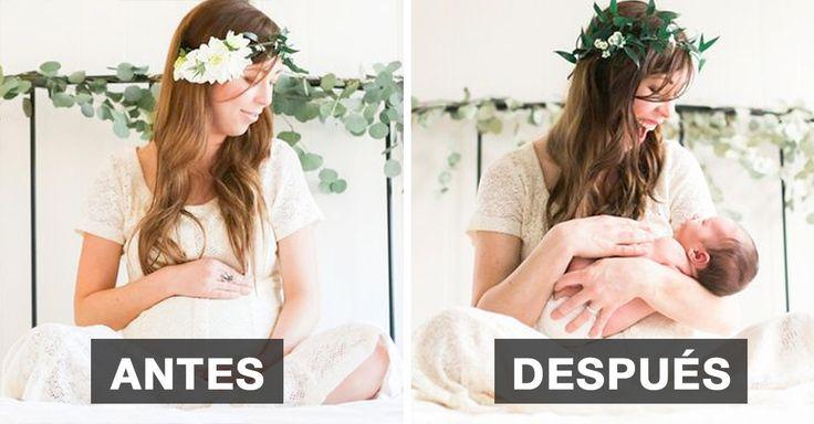 No existe transformación más hermoso para documentar en fotografías que el embarazo y el nacimiento de una nueva vida.