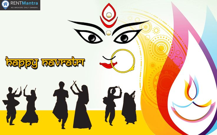 RentMantra Wishes You Happy Navratri . May Goddess Durga Brings Health And Prosperity to Everyone's Life. #HappyNavratri #Jaimatadi #RentMantra #brokerfree #noida