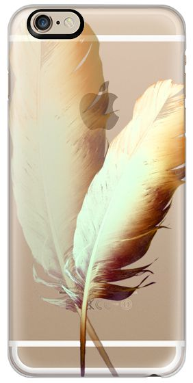 Casetify iPhone 6 Classic Snap Hülle - FEATHER DANCE GOLD $ 40 by Monika Strigel iPhone 6 by Monika Strigel #Casetify