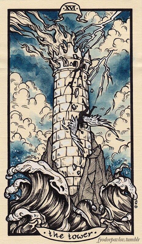 москве карта таро башня картинка советские годы