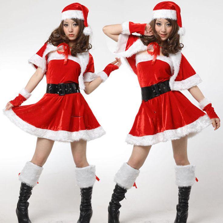 Cheap 2015 donne di promozione delle vendite sexy costume di natale sleepwear halloween uniforme costume del kimono libero, Compro Qualità abbigliamento direttamente da fornitori della Cina:         Nome del prodotto:  Costumi di natale          Colore:  Rosso          Formato:  Trasporto          Materiale: