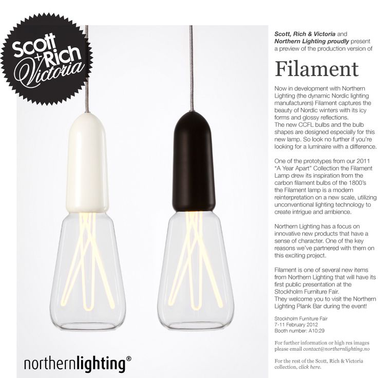 Awesome FIlament Style Luminaire By Northern Lighting For Scott, Rich U0026 Victoria Awesome Design