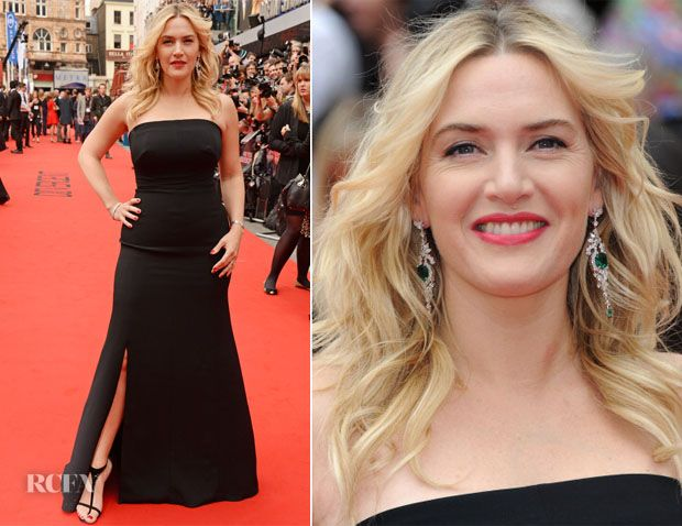 Kate Winslet In Jenny Packham – 'Divergent' London Premiere