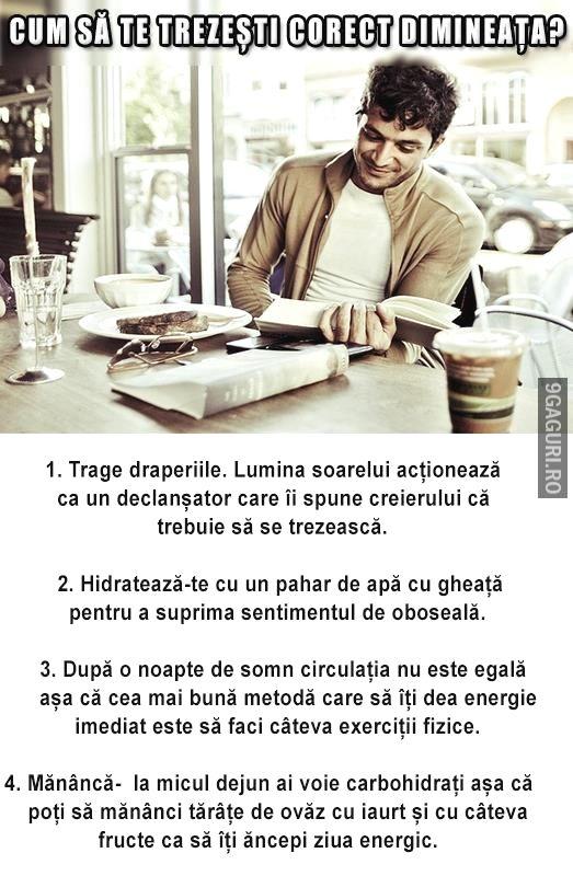 Cum să te trezești corect dimineața   Vezi Postarea ➡ http://9gaguri.ro/media/cum-sa-te-trezesti-corect-dimineata