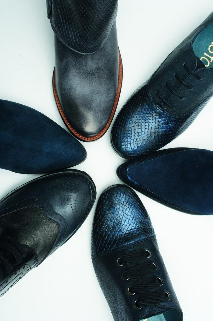 Bataille de bleu chez Karston Chaussures ! #derbys #bottines #blueshoes #boots #sneak