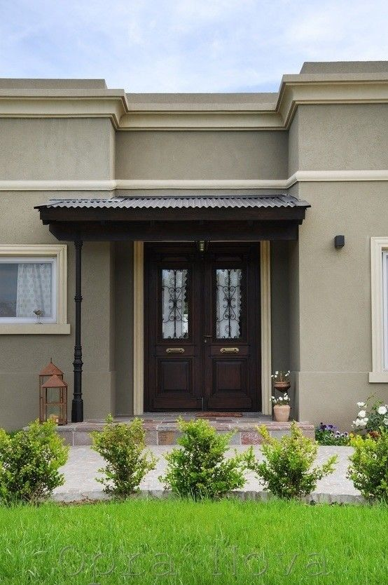 Las 25 mejores ideas sobre casas de estilo colonial en - Entradas de casas rusticas ...