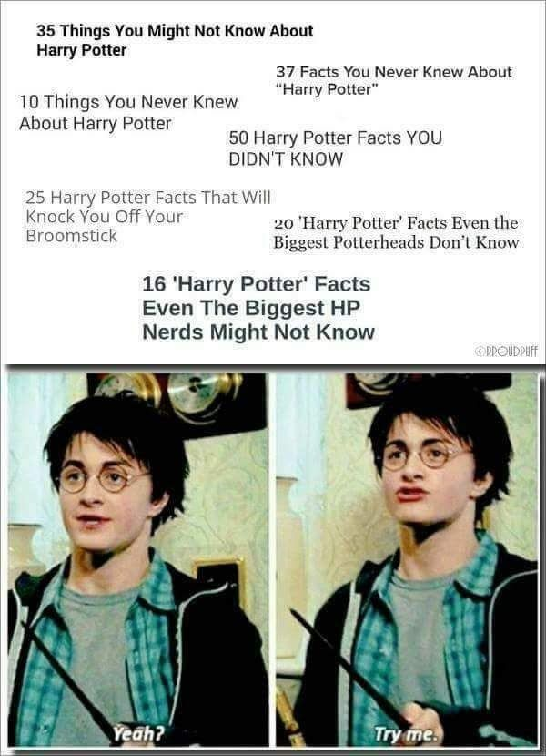 Harry Potter Memes I Have Saved To My Phone 14 Yeah Try Me Harry Potter Universal Harry Potter Obsession Harry Potter World