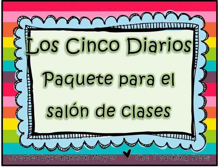 daily 5 Spanish Version